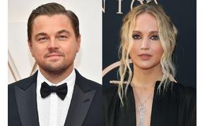 Rengeteg sztár lesz Leonardo DiCaprio és Jennifer Lawrence közös Netflix-filmjében