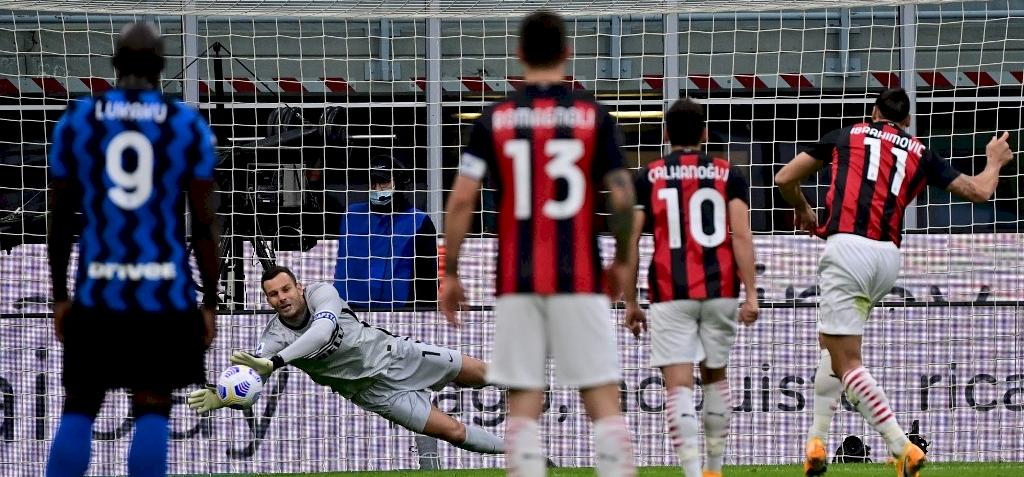 Ibrahimovic duplája eldöntötte az Inter elleni derbit – videó