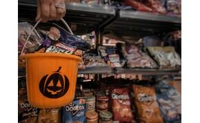 Angol és amerikai halloween-i édességeket árul egy budapesti delikát bolt