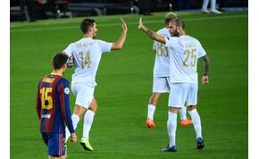 Bajnokok Ligája: ötöt kapott a Ferencváros Barcelonában