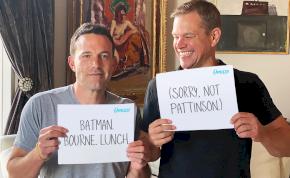 Matt Damon beszólt Ben Afflecknek a Batman miatt