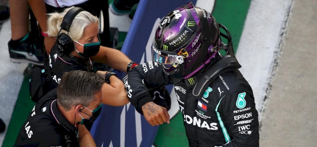 Lewis Hamilton nyert Portugáliában