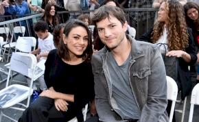 Jól megnőttek Ashton Kutcher és Mila Kunis gyerekei – fotó