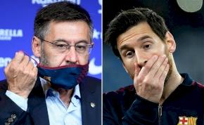 Barca-elnök beszélt a Messi-ügyről és arról, lemond-e