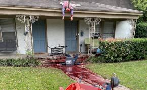 Túl élethű halloweeni dekoráció miatt hívták ki a rendőröket