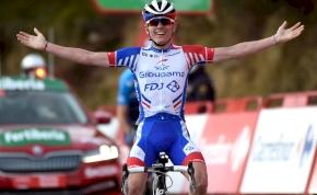 David Gaudu első győzelme a Vueltán