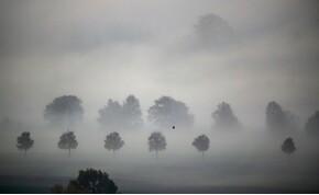 Köd előttem, köd mögöttem – keddi időjárás