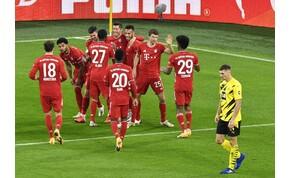 Öt (plusz két) gól a Borussia-Bayern Bundesliga-derbin – videó