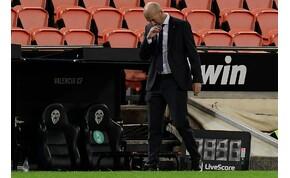 Összeomlott a Real Madrid védelme Valenciában