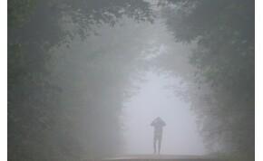 Borult, ködös idő várható – keddi időjárás