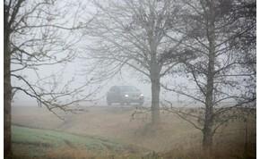 Szerdán is figyelni kell a köd miatt – várható időjárás
