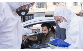 Akár az autódban is elvégzik a koronavírus-tesztet Budapesten