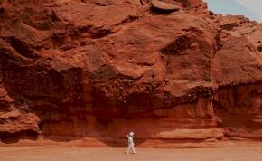 UFO-észlelés: sokan azt gondolják, hogy lezuhant űrhajót találtak a Marson - fotó