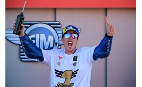 Új világbajnoka van a MotoGP-nek