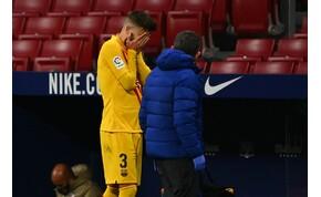 A Barca fekete napja: Ter Steigen óriási hibája, Piqué sérülése, vereség – videó