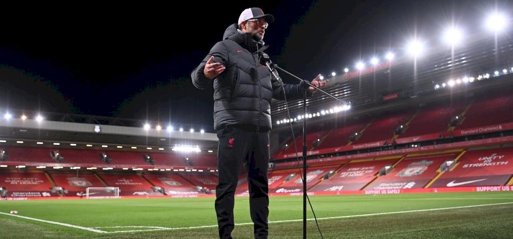 Hiába a Liverpool rekordja, Klopp kemény kritikát fogalmazott meg