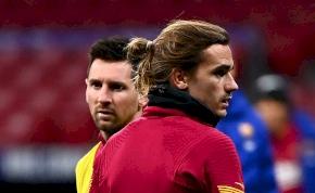 Barca-játékosok egymás közt: Griezmann tisztázta a Messi-ügyet