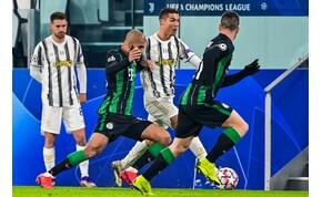 A 92. percben rúgott góllal tudta csak legyőzni a Juventus a Fradit – videó