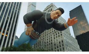 Egy gigantikus Dwayne Johnson lufi rémisztette halálra New York lakóit – poénvideó