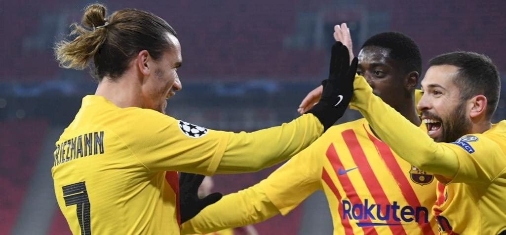 BL: nem okozott gondot a Barcelonának a Fradi legyőzése
