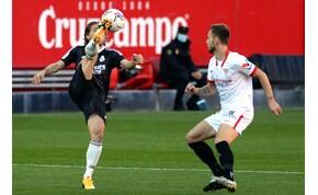 Egy öngól hozta meg a sikert a Real Madridnak Sevillában