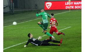 Nézők nem, de egy róka ott volt a Diósgyőr-Fradi meccsen