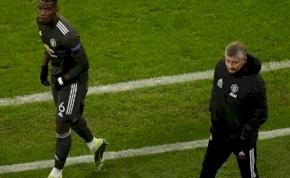 A Manchester United edzője visszaszólt Pogba ügynökének