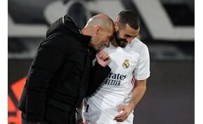 A Real Madrid edzője megnevezte minden idők legjobb francia csatárát