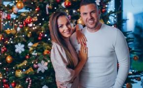 Kasza Tibi a szerelmével csinált közös karácsonyi dalt