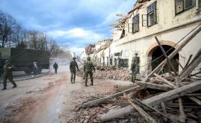 Újabb két földrengés volt reggel Horvátországban