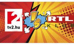 A TV2 pezsgőt bontott, de az RTL Klub lenyomta a torkukon
