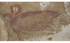 Megtalálták a világ legrégebbi állatfestményét