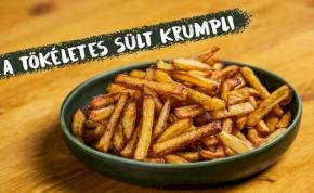 Otthon minden jobb: így készítsd el tökéletesen a sült krumplit