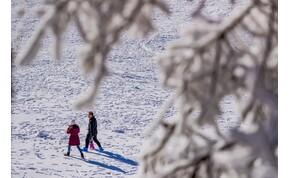 Egy kis hó és akár 12 fok – pénteki időjárás