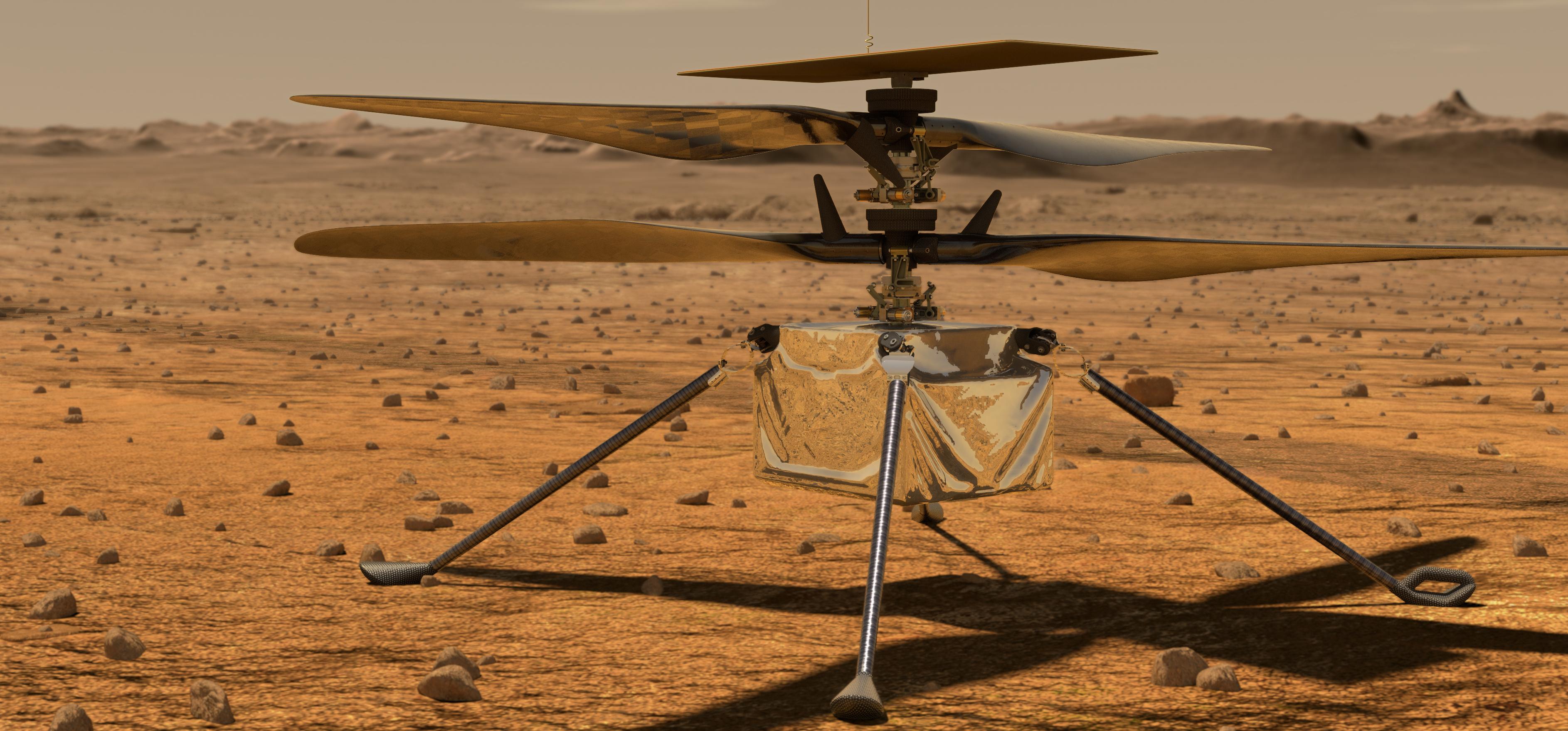 Hamarosan egy helikopter fog körözni a Marson – videó