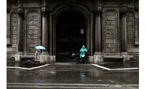 Hogy mi várható szerdán? Eső, eső és még több eső!