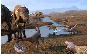 Mégsem aszteroida pusztította ki a dinoszauruszokat?