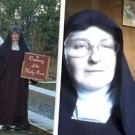 Ez a két apáca állítólag démonűzés céljából szegte meg a kijárási korlátozást