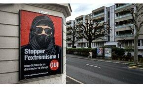 Svájc betiltja az arcot takaró öltözékek nyilvános viseletét