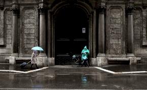 Erős szél, eső, akár hózápor – ez vár ránk csütörtökön