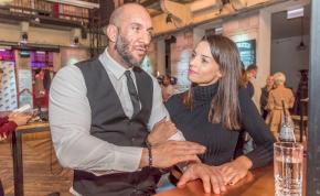 Berki Krisztián felesége beleesett egy nagy adag birkaürülékbe – videó