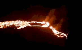 6000 éve szunnyadó vulkán tört ki Izlandon