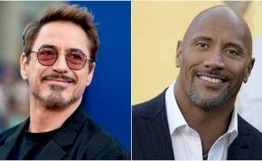 Dwayne Johnson összecsap Robert Downey Jr.-ral