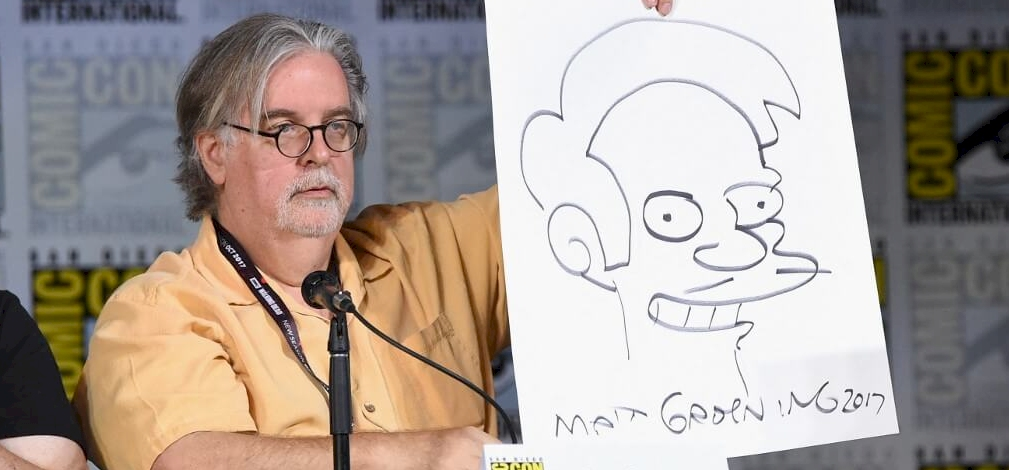 A Simpson család alkotója olyat tett, amit senki más nem vállalt be
