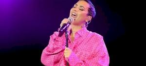 Anuncio impactante: Demi Lovato es emocional