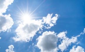 Időjárás: Húsvétvasárnap csillapodik a szél és több órára kisüthet a nap