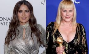 Mellverseny: Salma Hayek vagy Patricia Arquette hatalmas keblei szebbek?