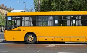 Mi történt? Elképesztően sok magyar busz kígyózik Mosonmagyaróvárnál a puszta közepén