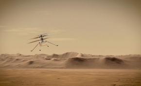 Részeges ámokfutásba kezdett a NASA repülője a Marson – videó