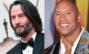 Végre: jön Keanu Reeves és Dwayne Johnson közös filmje